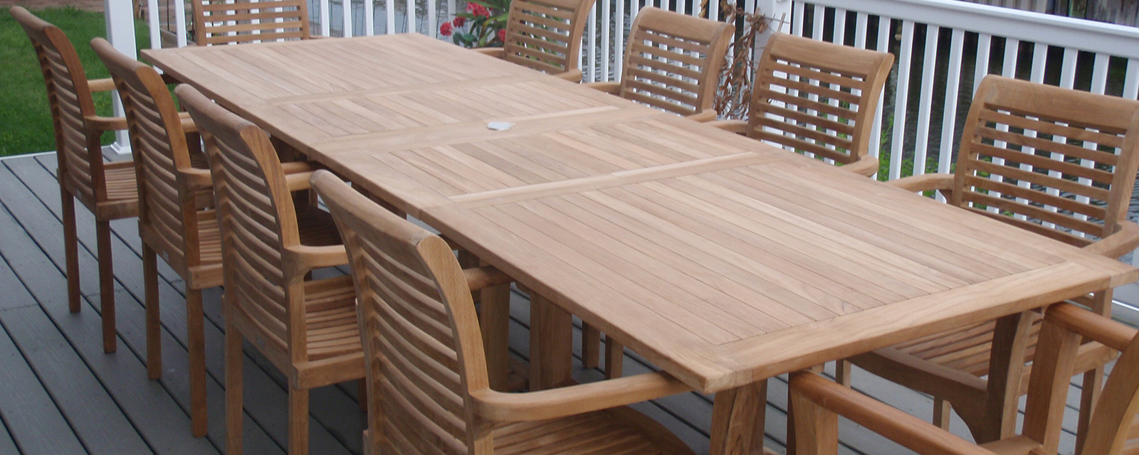 Windsor Teak Furniture Buckingham Extension Table
