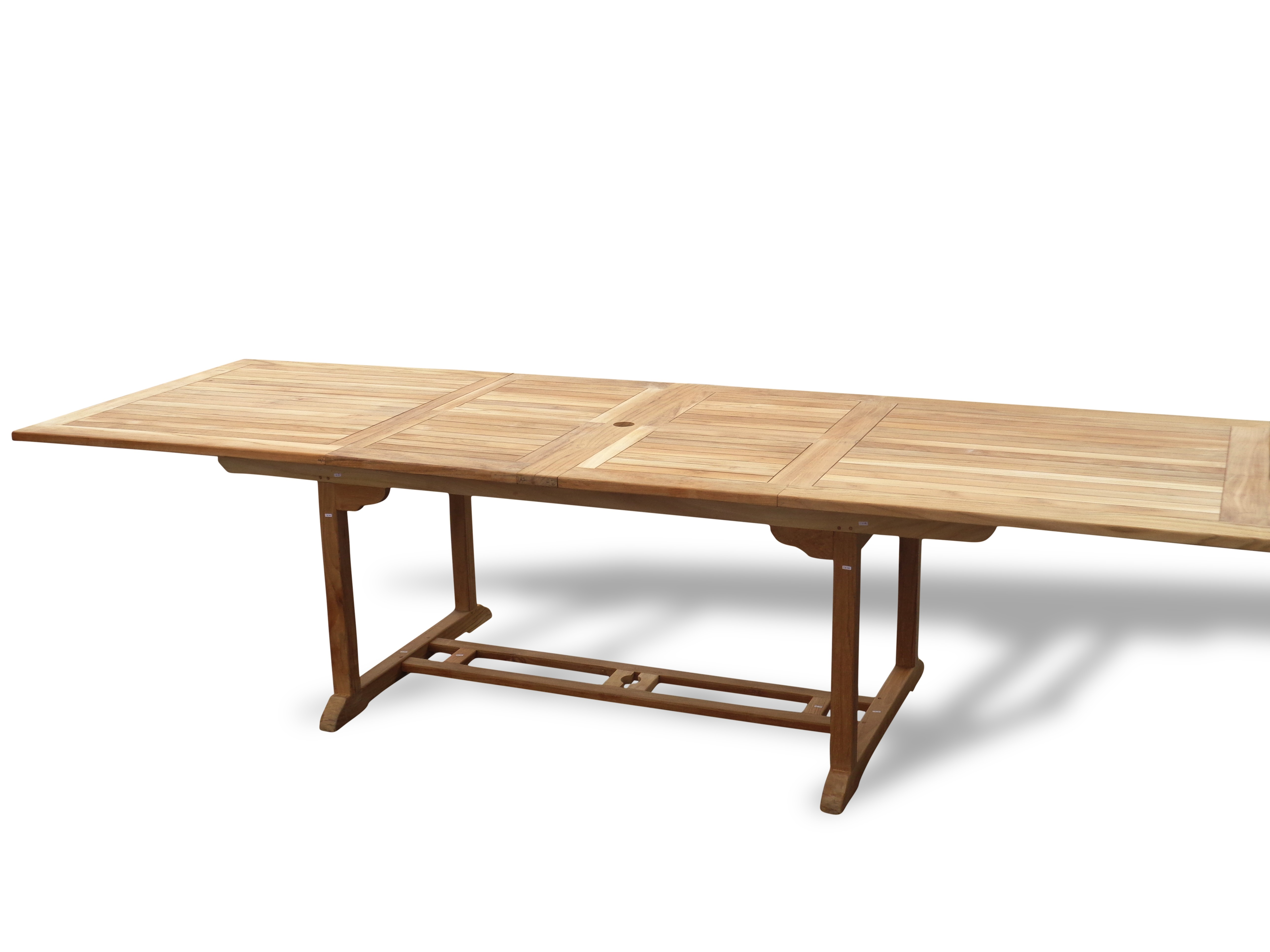 "Buckingham 138"" x 39"" Rectangular Double Leaf Extension Table...Seats 16 Adults....makes 3 Different Size Tables"