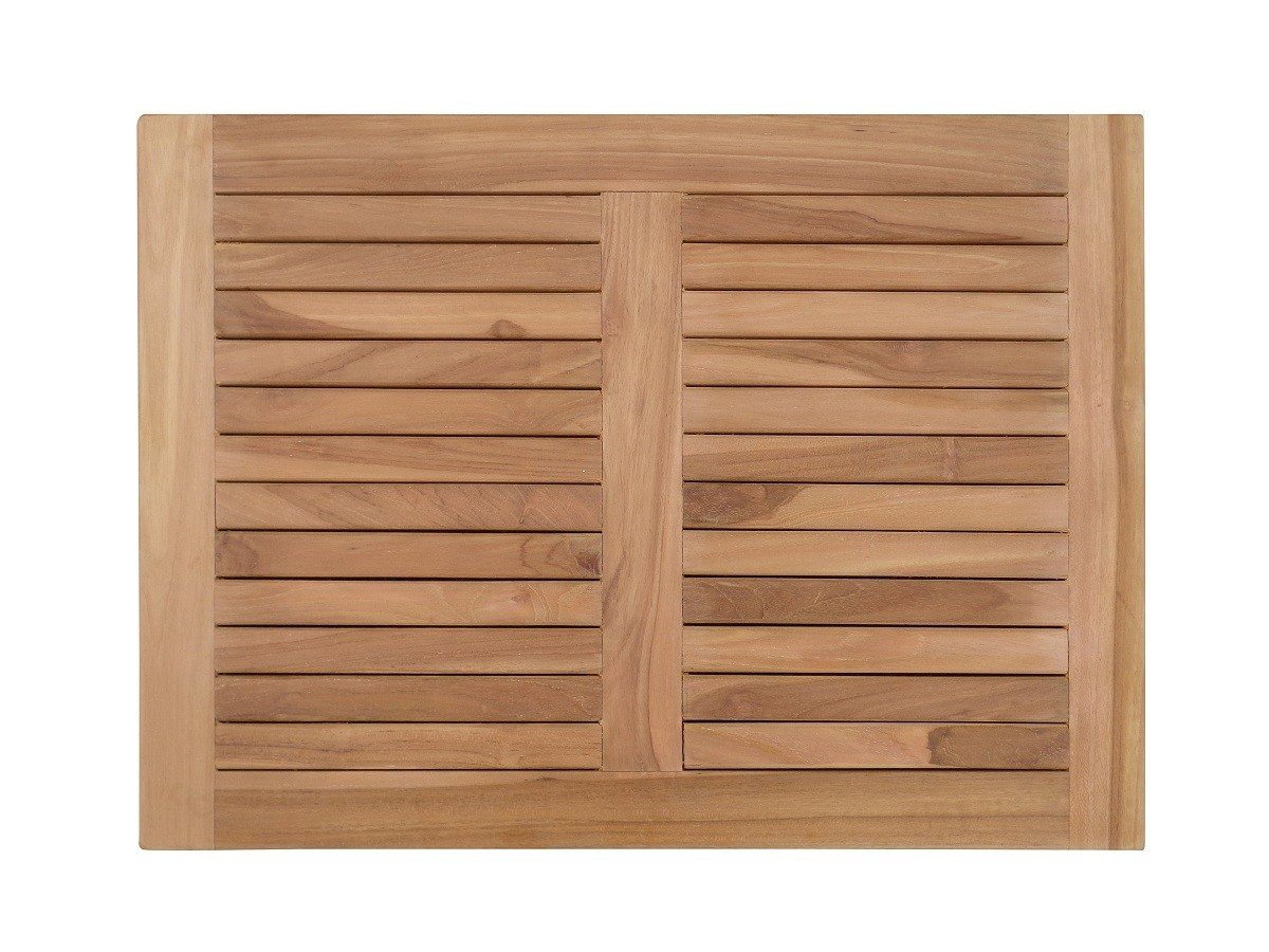 "Indoor/Outdoor Teak Shower Mat...25"" x 18"" X 1.5"" 7 lbs....Perfect for Decks, Saunas, Bath Rooms, Yards, etc"