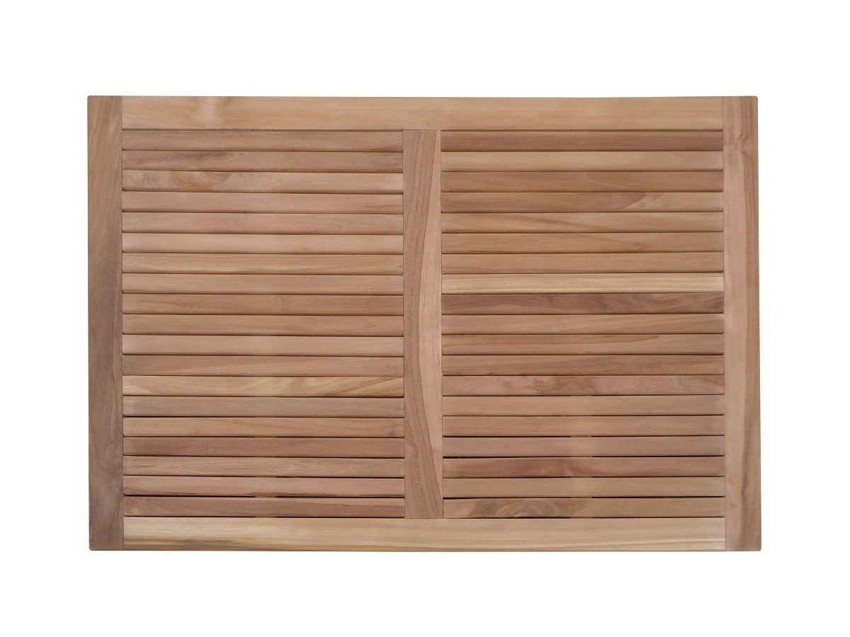 "Indoor/Outdoor Teak Shower Mat...36"" x 26"" X 1.5"" 12 lbs....Perfect for Decks, Saunas, Bath Rooms, Yards, etc"