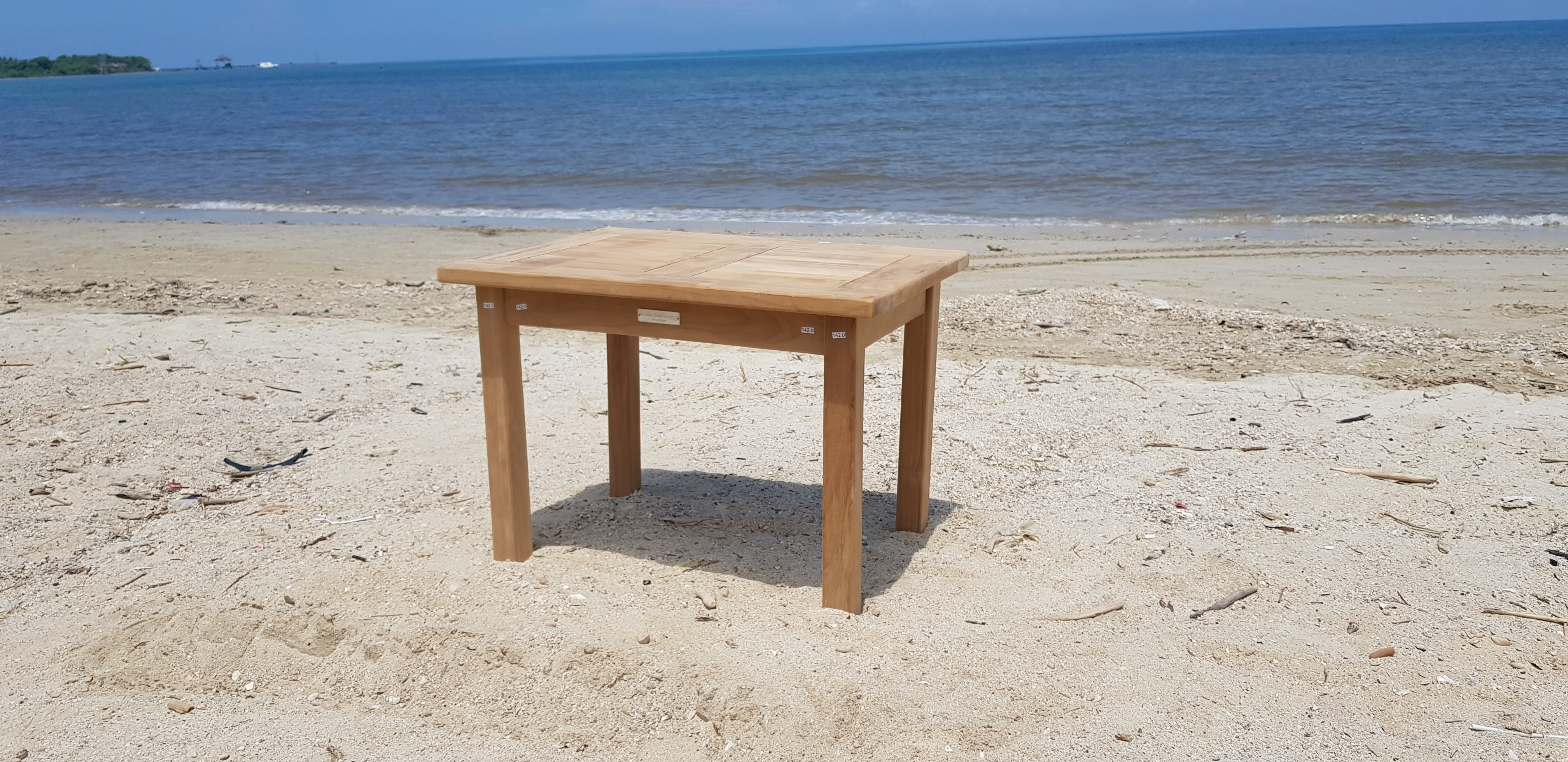 "Cape Cod Rectangular 28"" x 20"" x 20"" Teak Coffee Table"