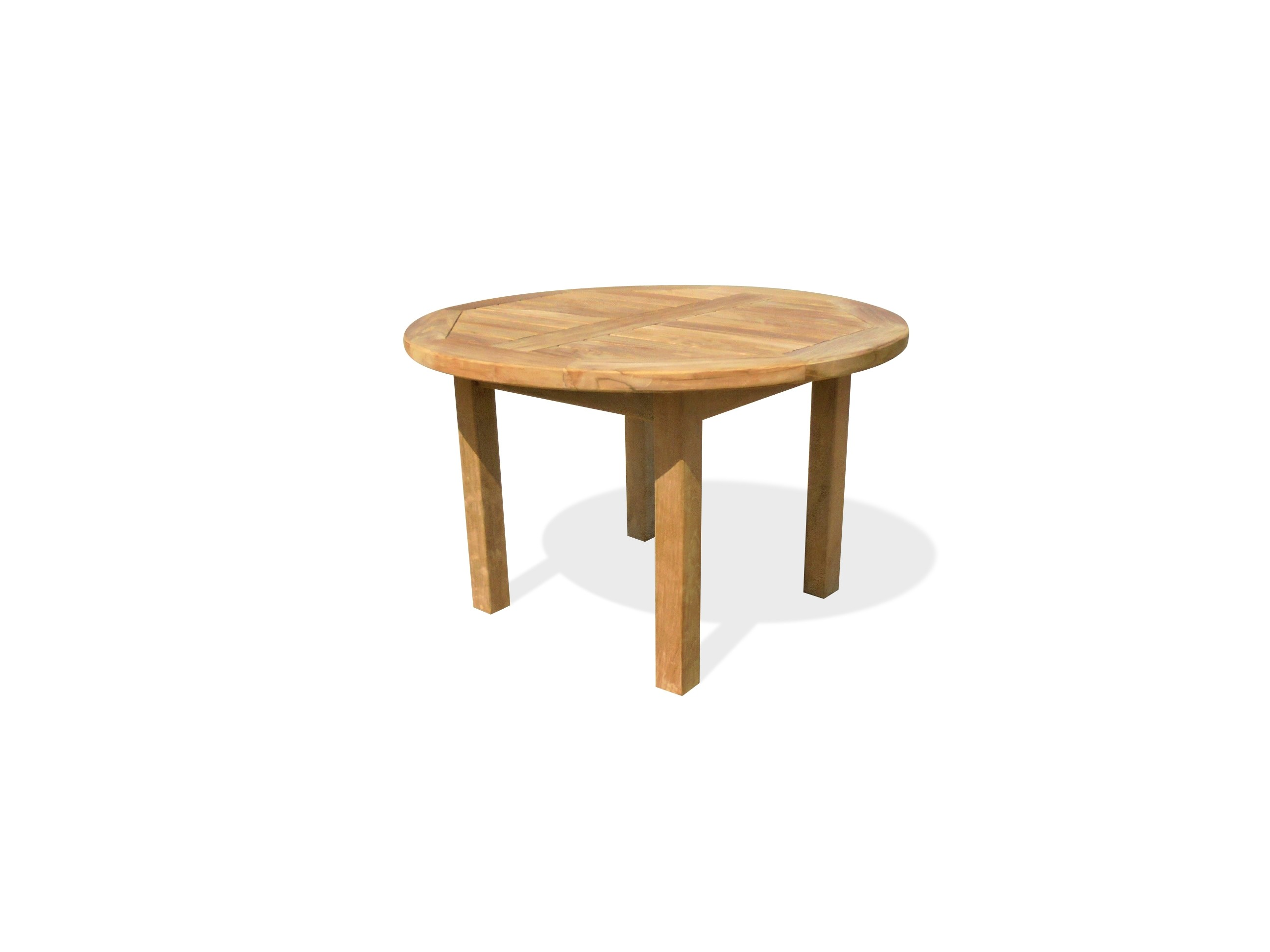"""Hyannis Port 31"""" Round x 20"""" H Teak Coffee Table"""
