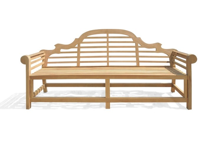 The Iconic 8 Foot (96 Inches) Lutyens Bench (The Original Scale)...in Premium Grade A Teak