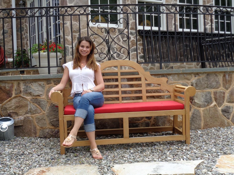 Classic Lutyens Grade A Teak 3 Seater Bench