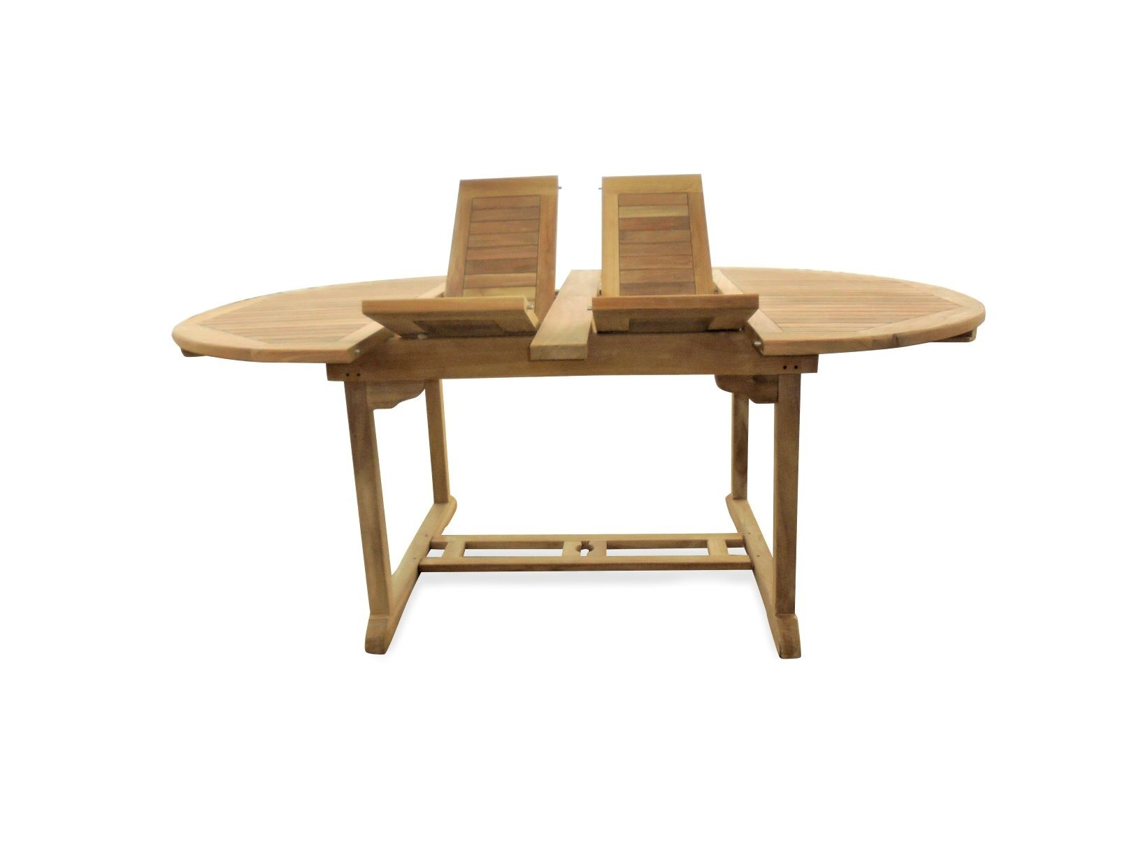 """Buckingham 75"""" x 51"""" Double Leaf Extension Table...That's ROUND WHEN CLOSED...Seats 8....makes 3 Different Size Tables"""