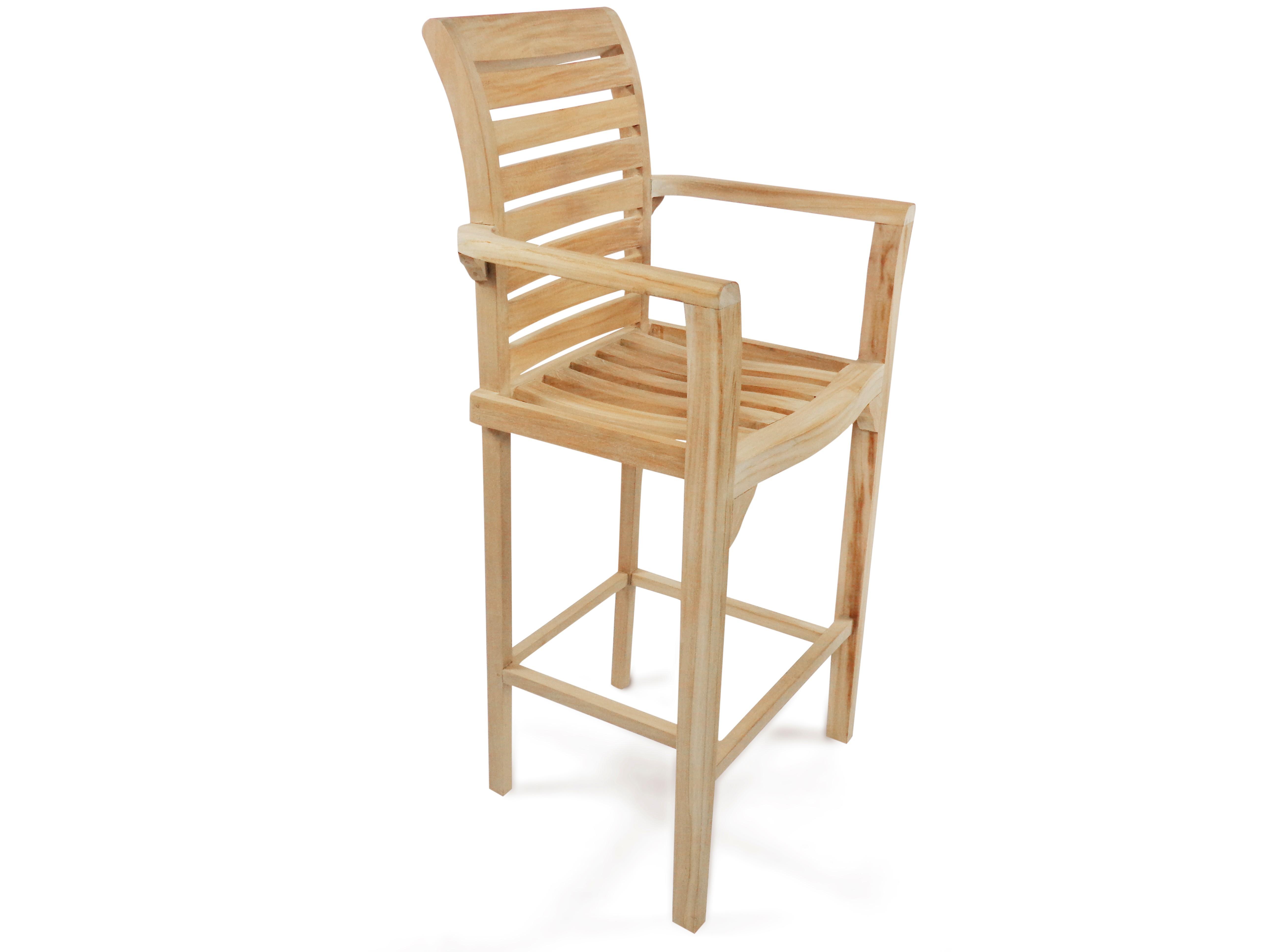 St. Moritz Teak Bar Arm Chair