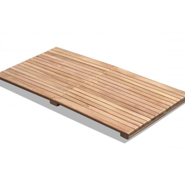 """Indoor/Outdoor Teak Shower Mat...40"""" x 20"""" X 1.75"""" 14 lbs....Perfect for Decks, Saunas, Bath Rooms, Yards, etc"""