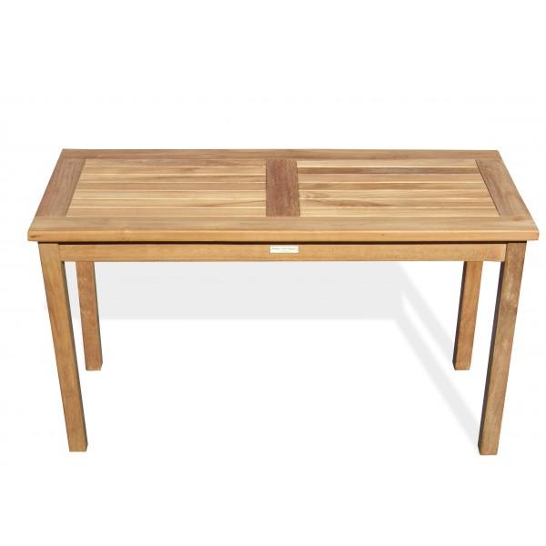 "Cape Cod Rectangular 48"" x 20"" x 27"" High -Teak Highboy Coffee / Utility Table"