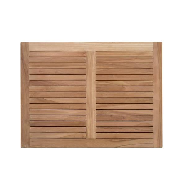"""Indoor/Outdoor Teak Shower Mat...30"""" x 22"""" X 1.5""""... 9 lbs....Perfect for Decks, Saunas, Bath Rooms, Yards, etc"""