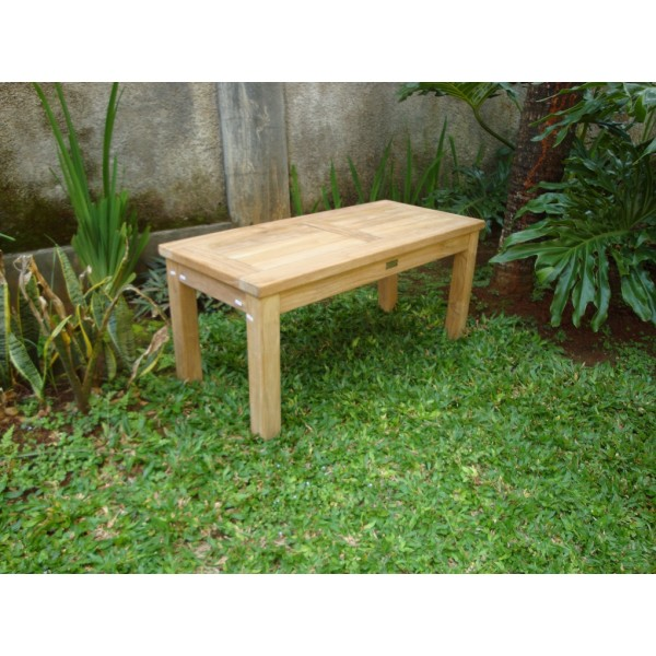 "Cape Cod Rectangular 36"" x 16"" x 16"" Teak Coffee Table"