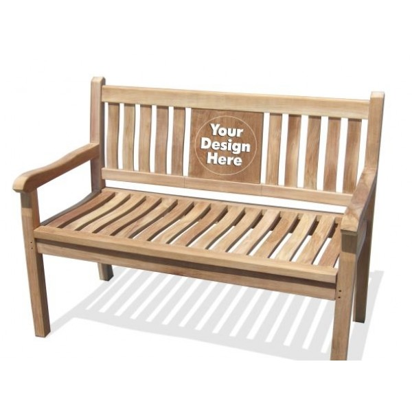 """Windsor's 48"""" Custom Personalized 2 Seater Bench"""