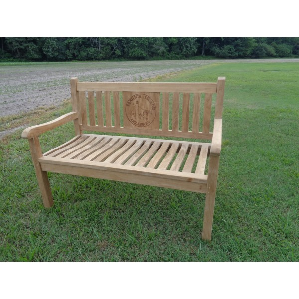 Fenwick Island Lighthouse Commemorative 2 Seater Bench