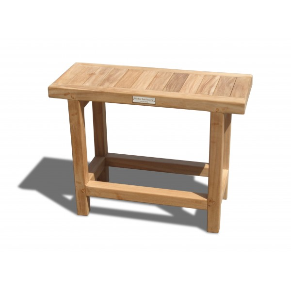 "The 10"" x 24"" Fenwick Side Table/ Shower Stool..take your pick!"