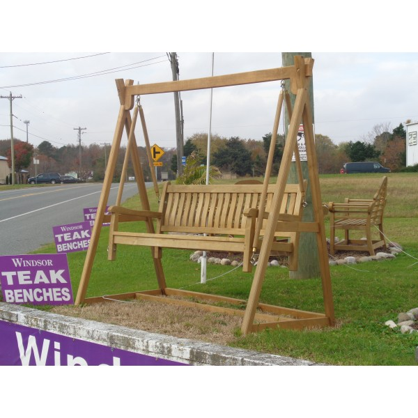 Windsor 3 Seater Bench Swing Set....Includes Bench & A-Frame