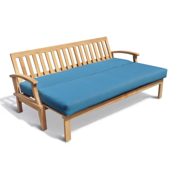 Portofino Deep Seating Teak Pullout Sofa Bed w/ Sunbrella Cushions.....a Windsor Teak Exclusive!