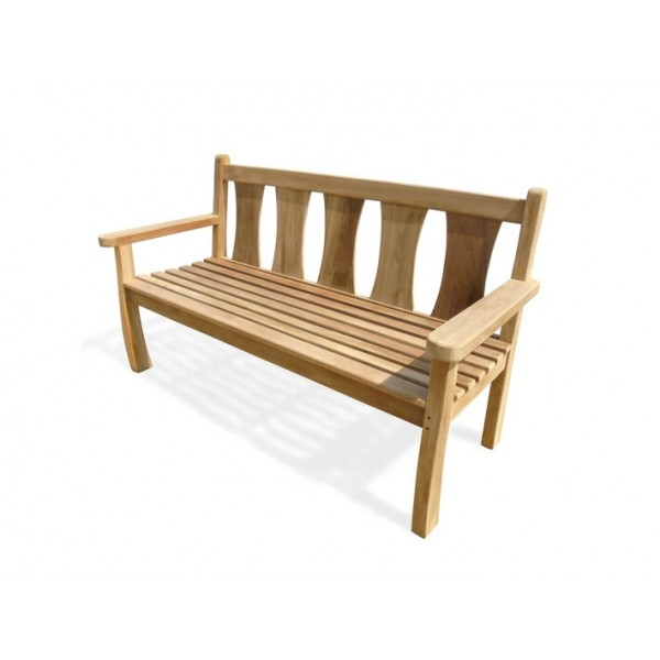 Windsor's......Exclusive.....Balmoral Teak Bench 3 Seater