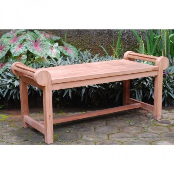 "The Lutyens 47"" Teak Coffee Table"