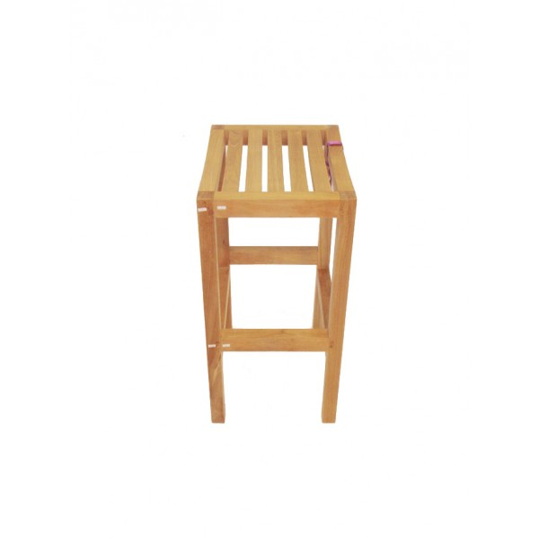 "Montego Backless Teak Counter Chair...(Counter Height is 5"" lower than Bar)"