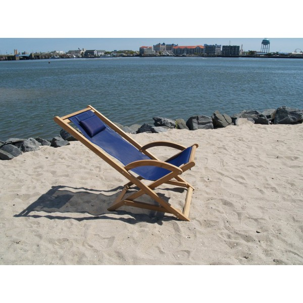 South Beach Teak Lazy Chair
