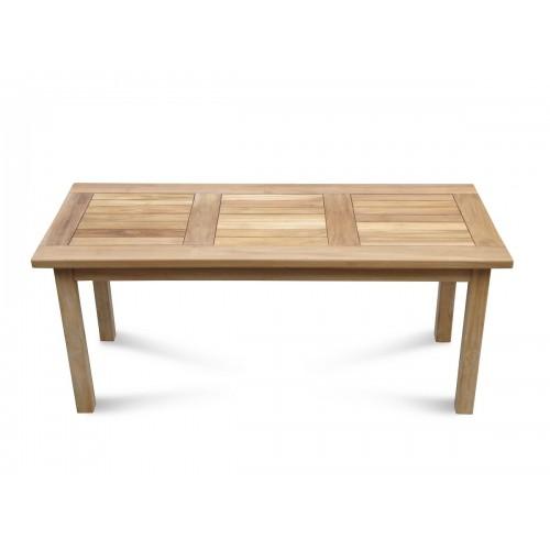 48 X 48 Coffee Table.Cape Cod Rectangular 48 X 20 X 20 Teak Coffee Table