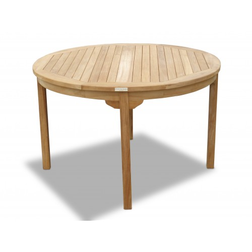 Cannes 47 Round Teak Dining Table
