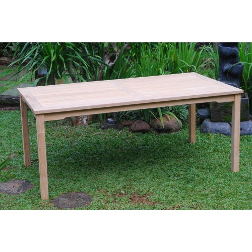 Cannes 82 X 35 Rectangular Teak Dining Table