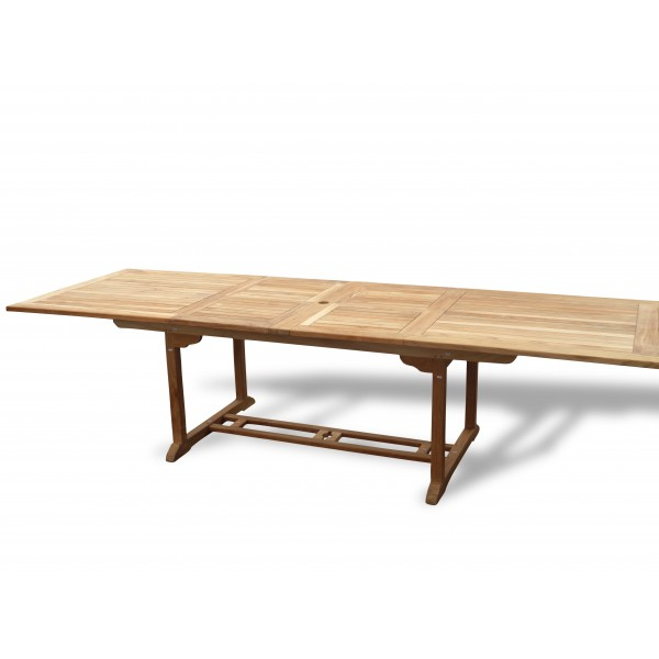 """Buckingham 138"""" x 39"""" Rectangular Double Leaf Extension Table...(11.5 Foot Long Table) Seats 16 Adults....makes 3 Different Size Tables"""
