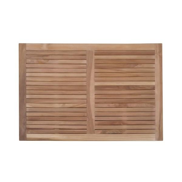 """Indoor/Outdoor Teak Shower Mat...40"""" x 20"""" X 1.5"""" 14 lbs....Perfect for Decks, Saunas, Bath Rooms, Yards, etc"""