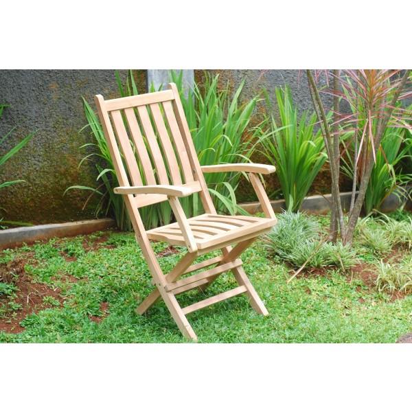 Jakarta Teak Folding Armchair