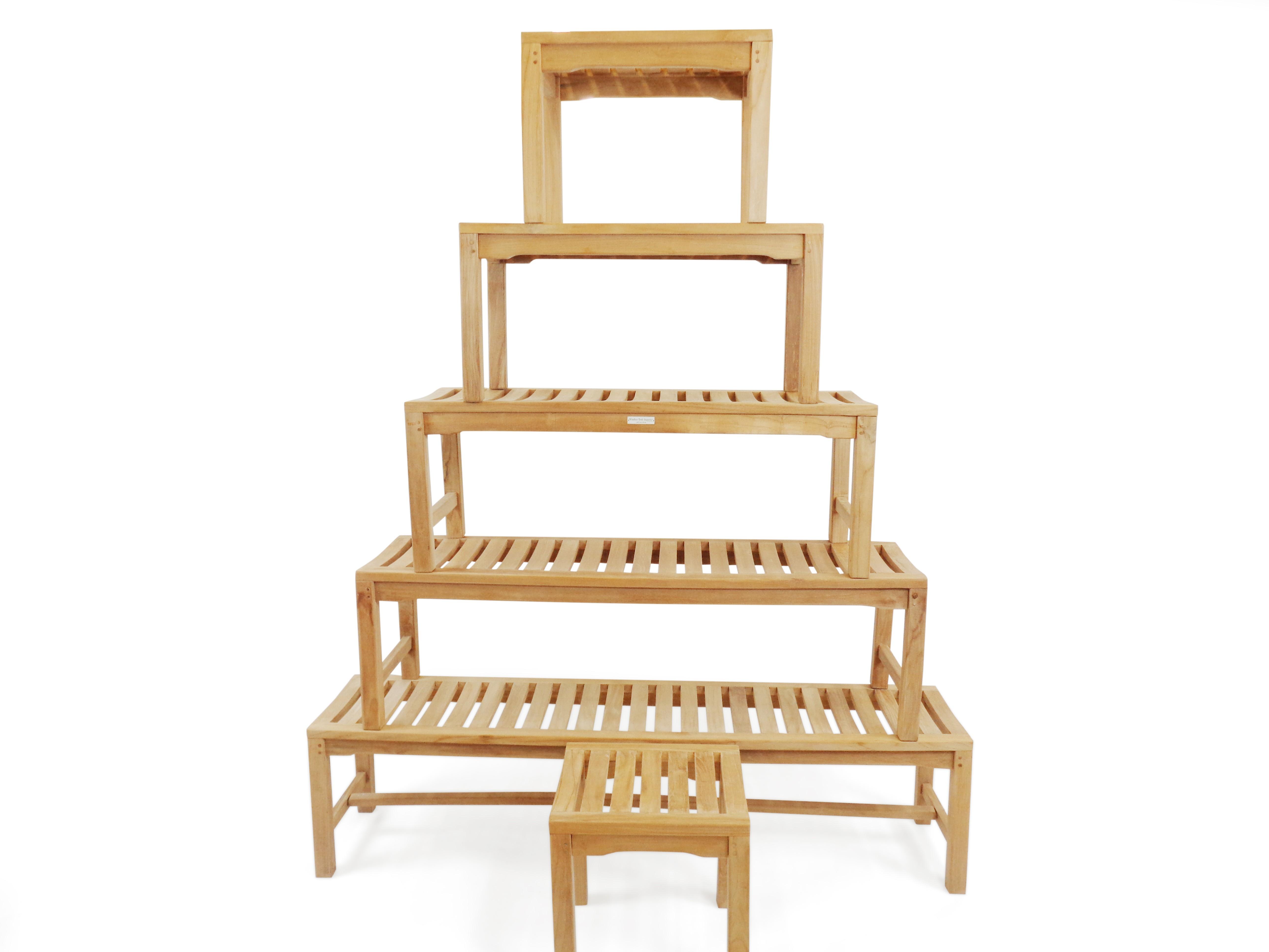 Windsor Teak Backless Bench