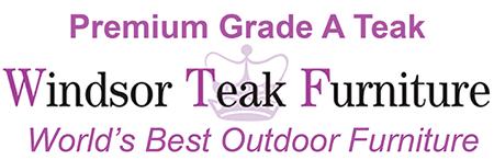 Windsor Teak Outdoor Patio Furniture